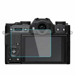Tempered Glass Film Camera LCD Screen Protector Guard For Fu