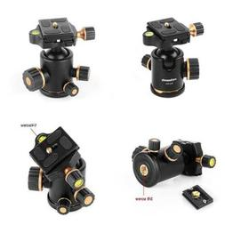 TH3 Pro DSLR Camera Tripod Ball Head 8KG/17.6Lbs Loading Cap
