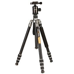 K&F Concept TM2534 DSLR Camera Tripod 4 Section 65 inch Load