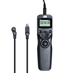 PIXEL Wired Timer Shutter Release Remote Control for Digital