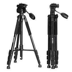 Camera Tripod, KZON K111 Professional Portable Aluminum Came
