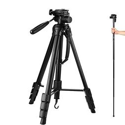 Camera Tripod, Targherle 70 Inch Lightweight Monopod Tripod
