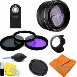 JUMBOKITS PHOTO Wireless Remote Control for Nikon D7200 D710