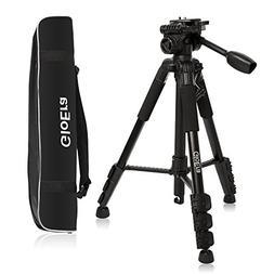 GloEra Camera Tripod Aluminum Portable Lightweight Camera St