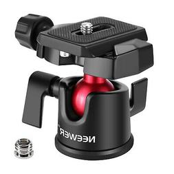 Neewer Camera Video Tripod Ball Head 360 Degree Rotating Pan