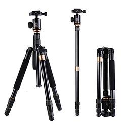 Professional Camera Tripod,LESHP Portable Aluminum Folding P