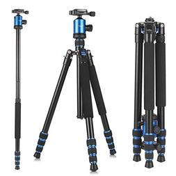 Camera Tripod, KetDirect Aluminium Compact Portable Lightwei