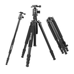 "ZOMEi 65"" Camera Tripod Lightweight Professional Travel Trip"