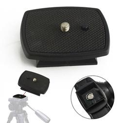 Tripod Quick Release Plate Screw Adapter Mount Head For Digi