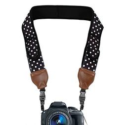 TrueSHOT Camera Strap with Polka Dot Neoprene Design , Acces
