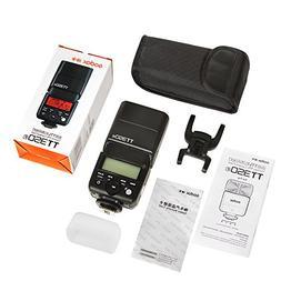 GODOX TT350F TTL Flash 2.4G HSS 1/8000s GN36 Camera Speedlit