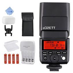 Godox TT350S GN36 1/8000s HSS Mini Flash 2.4G Wireless Maste