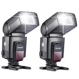 Neewer 2 Pieces TT560 Flash Speedlite for Canon Nikon Panaso