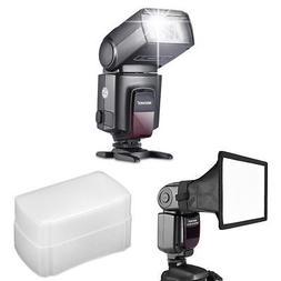 TT560 Flash Speedlite with Softbox Diffuser for Canon Nikon