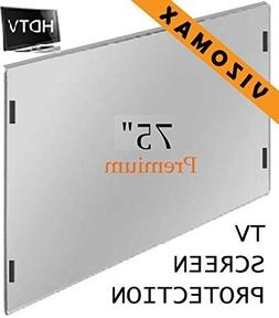 75 inch Vizomax TV Screen Protector for LCD, LED, OLED & QLE