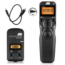 Pixel TW-283 E3 LCD Wireless Remote Shutter Release Cable Wi