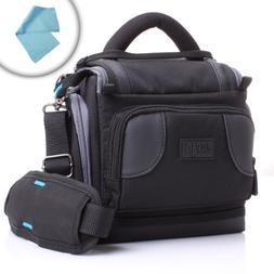 Ultra Light Portable DSLR Camera Bag Case with Adjustable Pa