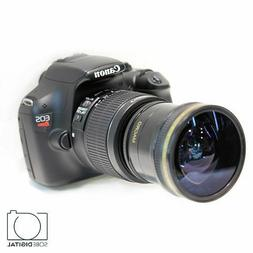 Ultra Wide Angle Macro Fisheye Lens for Canon 80D 70D 60D T6