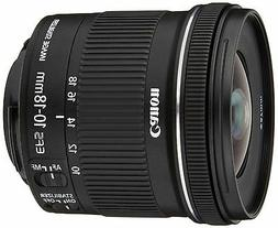 Canon Ultra Wide Angle zoom lens EF-S10-18mm F4.5-5.6 IS STM