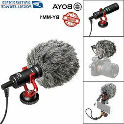 Universal BOYA BY-MM1 Video Mic Microphone Condensor For Nik