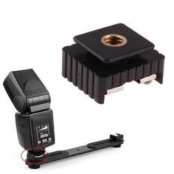 Universal Flash Hot Shoe Mount Adapter for 1/4'' Screw Threa