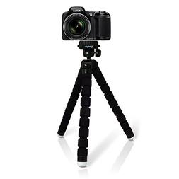 iGadgitz Large Universal Flexible Foam Mini Tripod for Nikon