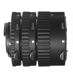 US Auto Focus Macro Extension 3 Tube Set For Nikon AF AF-S D