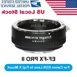 US Fringer EF-FX2 Pro II Auto Focus Lens Adapter for Canon E