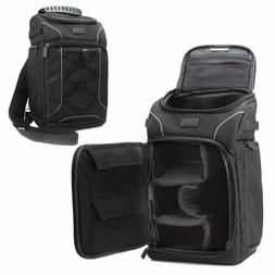 USA GEAR Professional DSLR Camera Sling Gadget Backpack