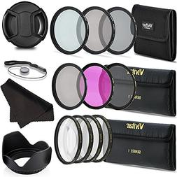 Professional 67MM UV CPL FLD Lens Filters + Neutral Density