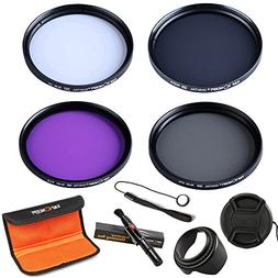 52mm lens filter, K&F Concept 52mm Lens Filter Kit Slim UV S