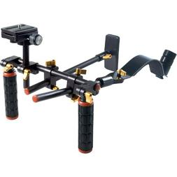 DLC V2 HD-DSLR Camera Video Rig Shoulder Brace Stabilizer