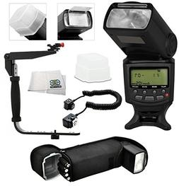 Best Value Professional AF Digital Flash Kit for NIKON D ser