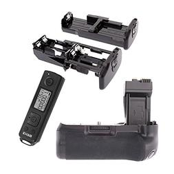 Meike Pro Vertical Battery Grip with LCD Screen Remote Contr