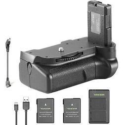 Neewer Vertical Battery Grip Kit for Nikon D5100 5200 D5300