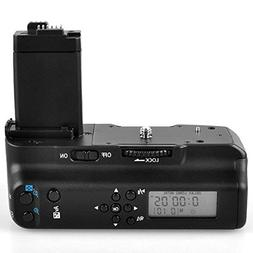 Meike Vertical Battery Grip with LCD Screen Display as BG-E8