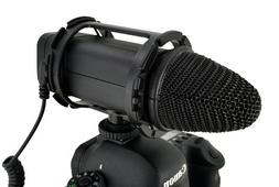 VGEAR VGMIC Stereo Video Microphone with Wind Screen for DSL