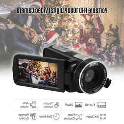 Video Camera Camcorder for YouTube FHD 1080P Vlogging Digita