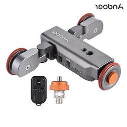 Andoer Video DSLR Camera Rail Rolling Track Slider Dolly Car