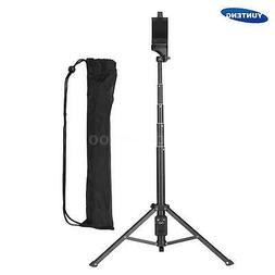 Video Tripod Monopod Stand Selfie Stick with Case for DSLR C