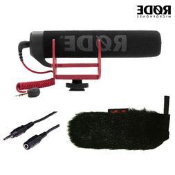 Rode VideoMic GO On-Camera Shotgun Microphone and WindTech M