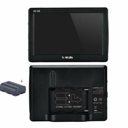 Viltrox 5'' Camera Clip-on TFT LCD Monitor HDMI AV +Battery