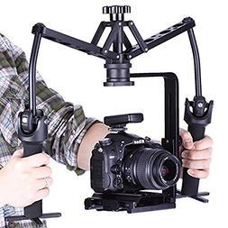 CEARI VILTROX WD-Z Twin-Style Mechanical Video Handheld Stab