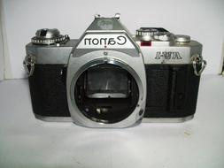 Vintage Canon AV-1 35mm SLR Camera
