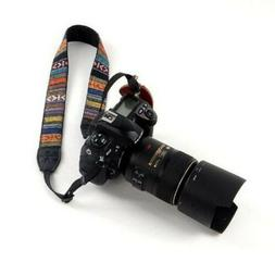 Vintage Camera Neck Shoulder Sling Belt Strap For DSLR/SLR C