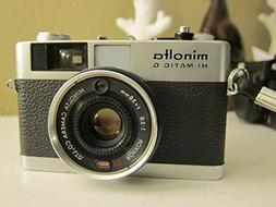 Vintage Minolta Hi-Matic G 35mm Camera