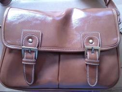 Koolertron Vintage PU Leather DSLR Camera Shoulder Bag for C