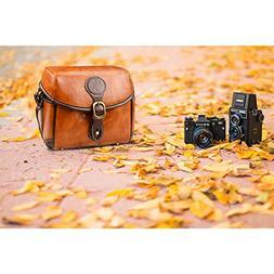 Vintage Retro Waterproof Bag Case for Camera DSLR Canon Niko