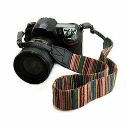 Vintage Shoulder Sling Belt Neck Strap for Camera SLR/DSLR N