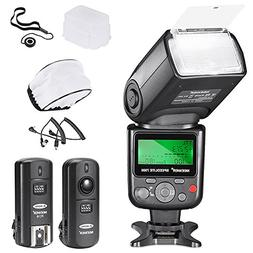 Neewer VK750 II i-TTL Flash for Nikon DSLR Camera Such as D7